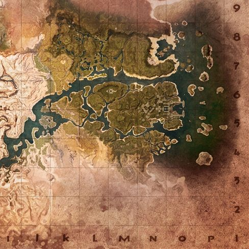 Mapa Conan Exiles 2018.The Exiled Lands Conan Exiles Map