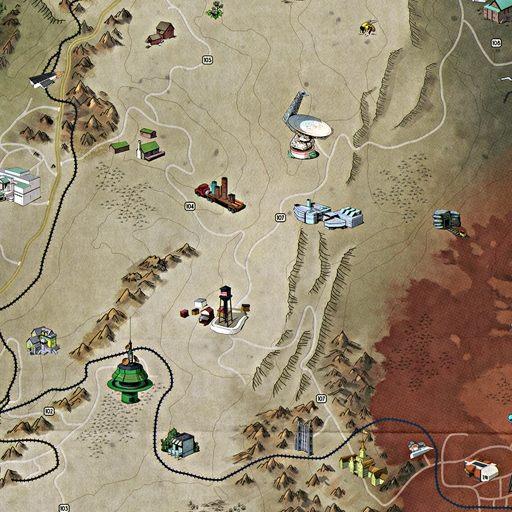 Appalachia / West Virginia, Fallout 76 Map