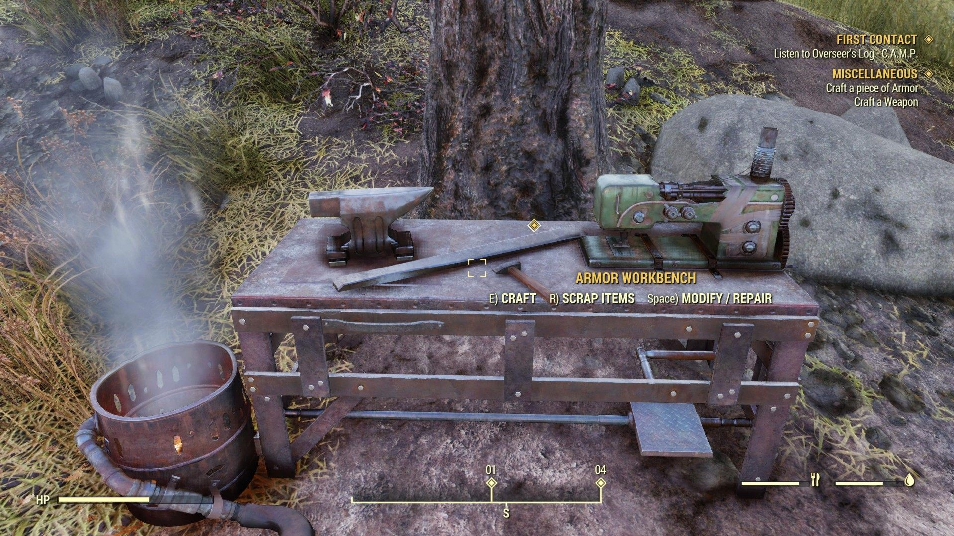 Armor Crafting, Fallout 76 Quest
