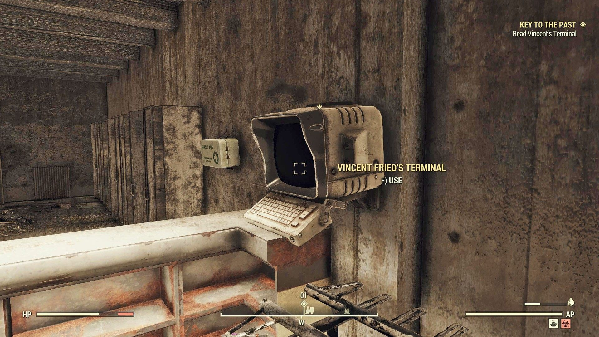 Key To the Past, Fallout 76 Quest