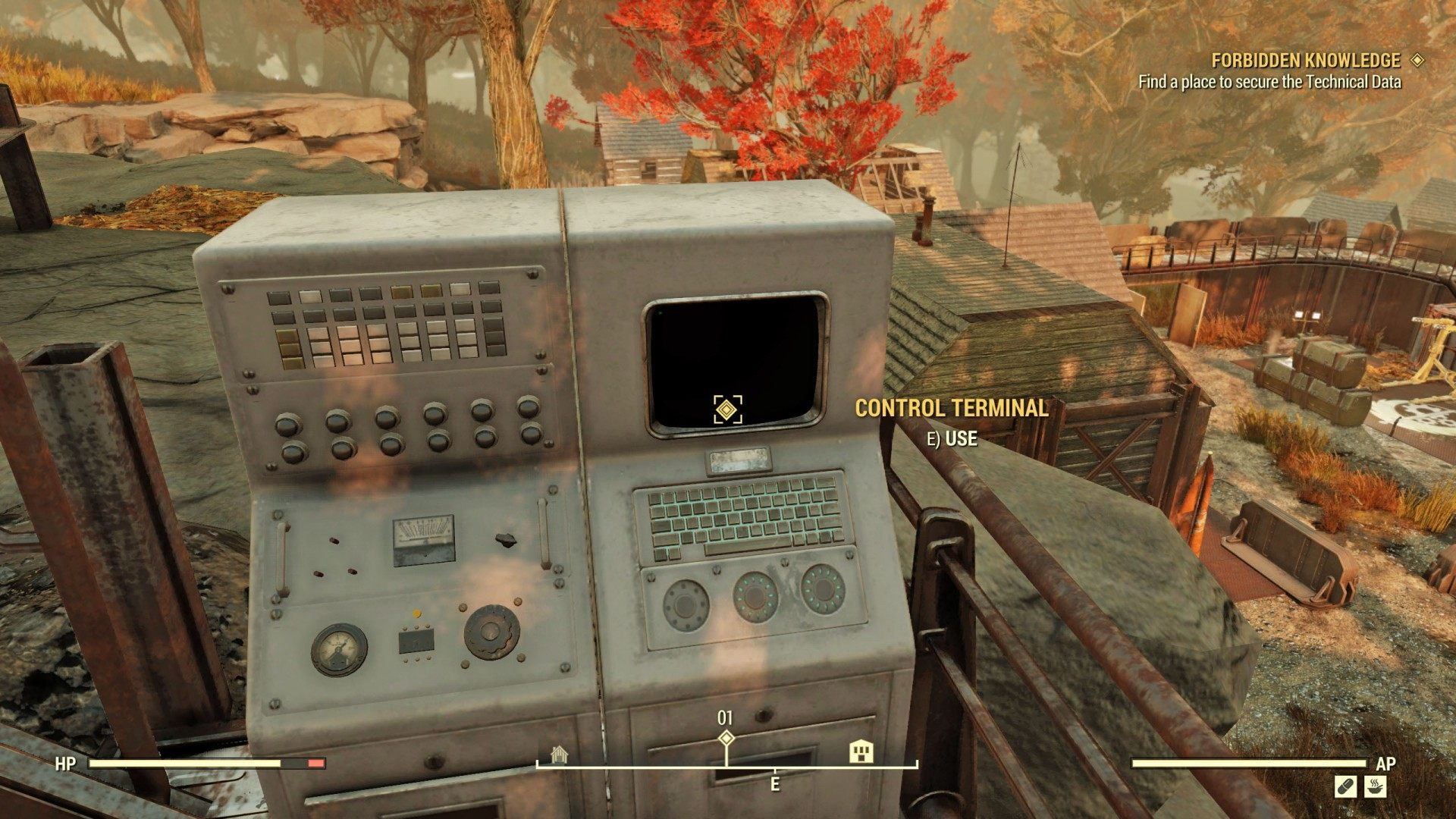Forbidden Knowledge, Fallout 76 Quest