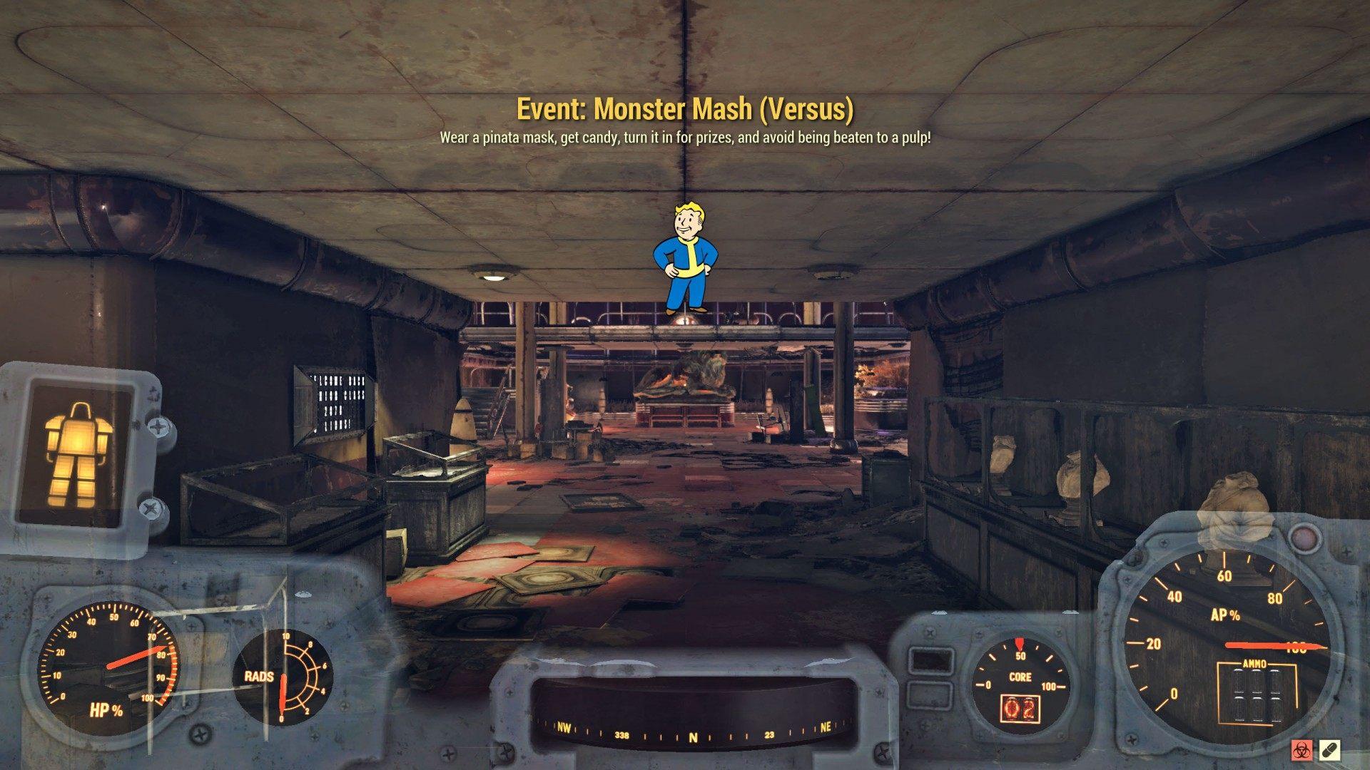 Event: Monster Mash, Fallout 76 Quest