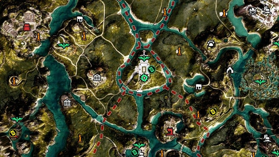 Elysium Assassin S Creed Odyssey Map