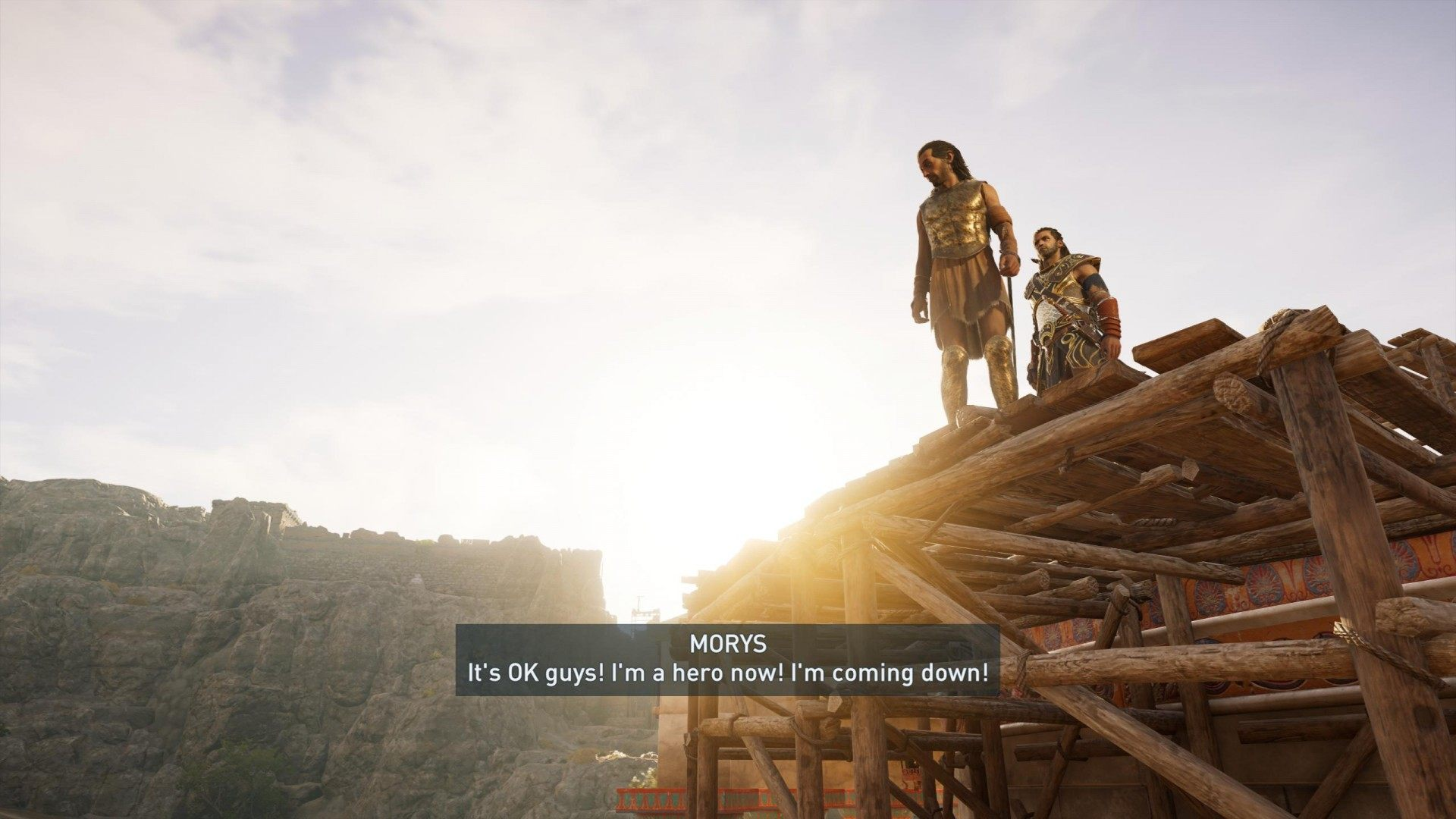 Bravely Ran Away Assassin S Creed Odyssey Quest
