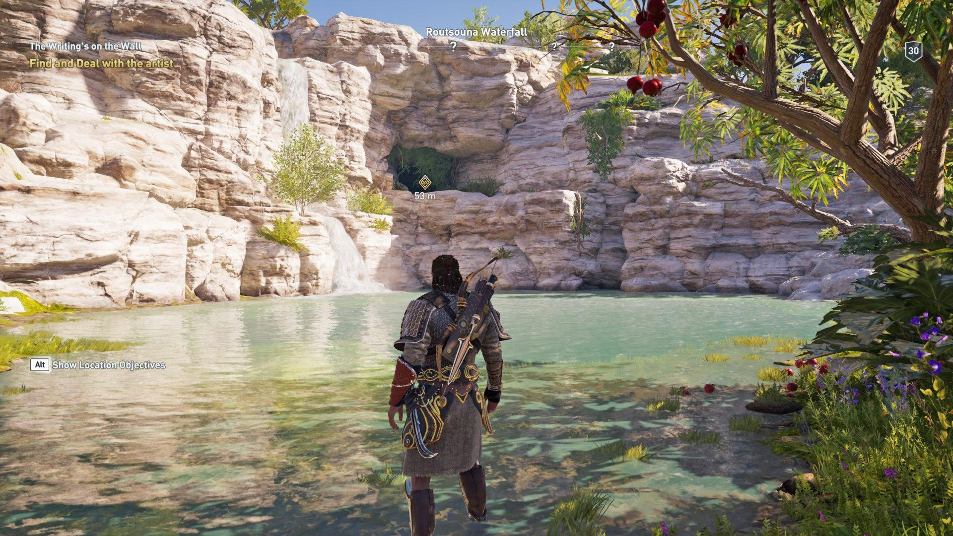 The Writing S On The Wall Assassin S Creed Odyssey Quest