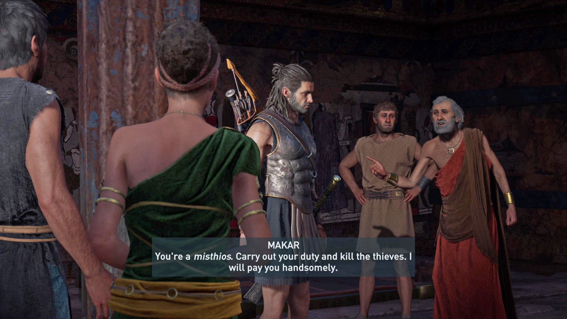 The Drachmae of Romance, Assassin's Creed Odyssey Quest