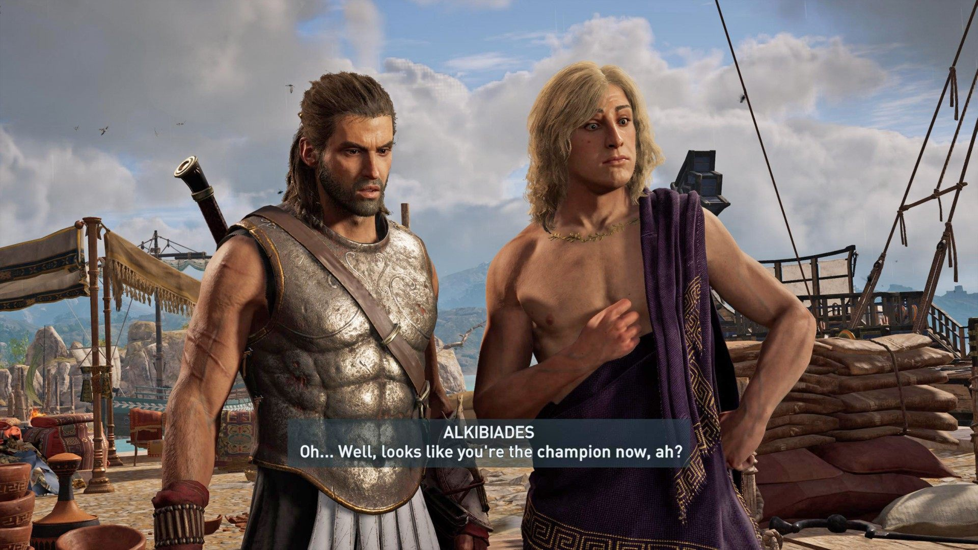 The Contender Assassin S Creed Odyssey Quest