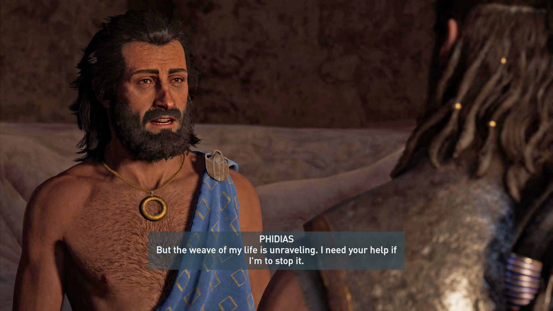 The Message The Stick And The Artist Assassin S Creed Odyssey Quest