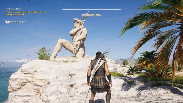 The Samian Statue Assassin S Creed Odyssey Quest