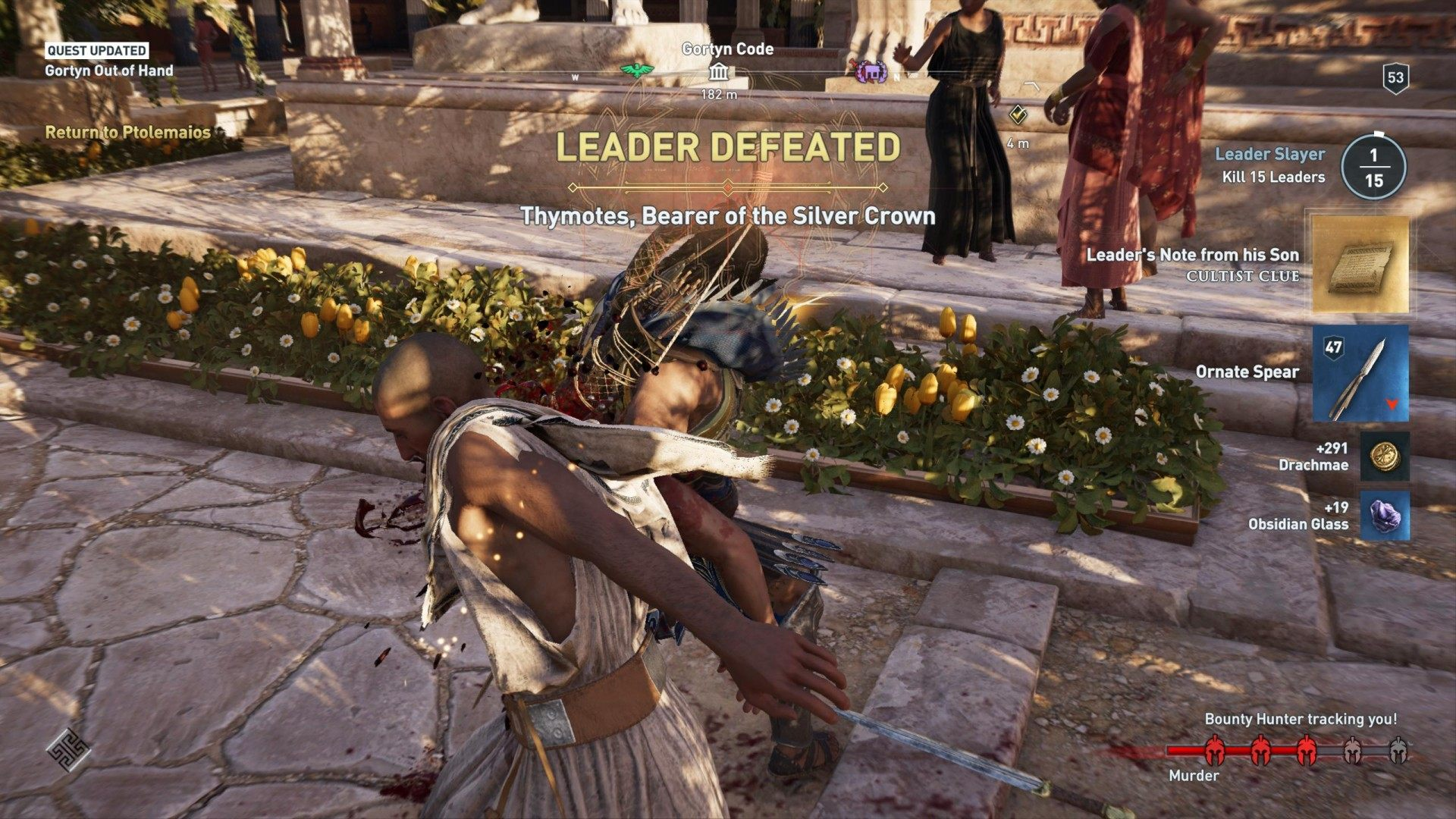 Gortyn Out of Hand, Assassin's Creed Odyssey Quest