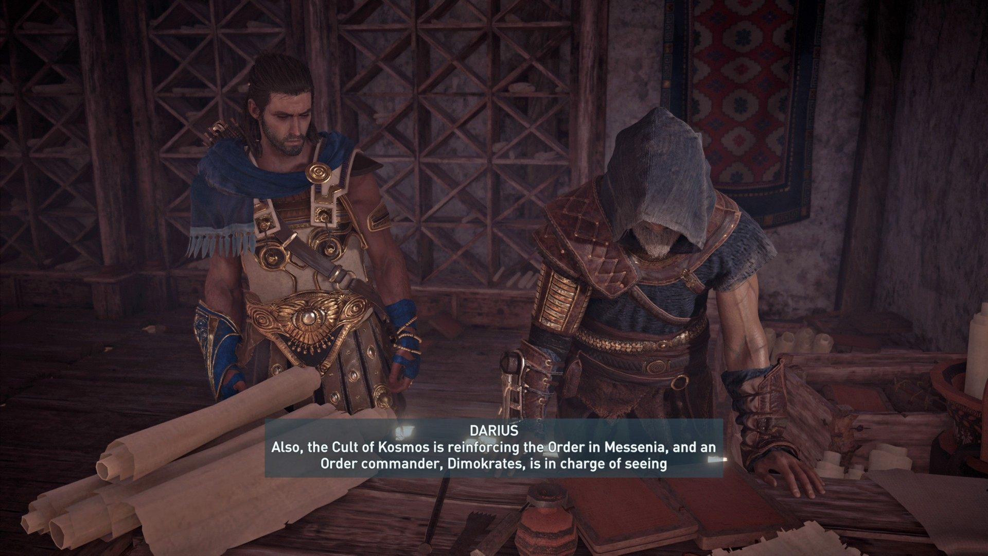 The Ordering Of The Kosmos Assassin S Creed Odyssey Quest