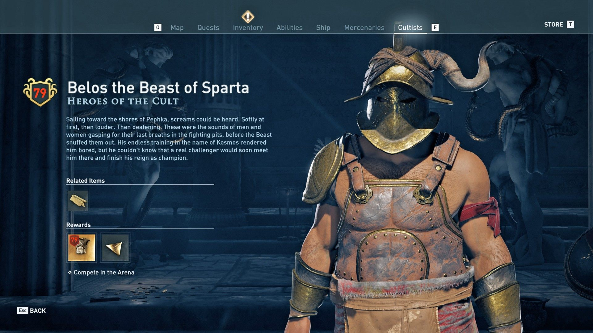 The Heroes Of The Cult Assassin S Creed Odyssey Quest