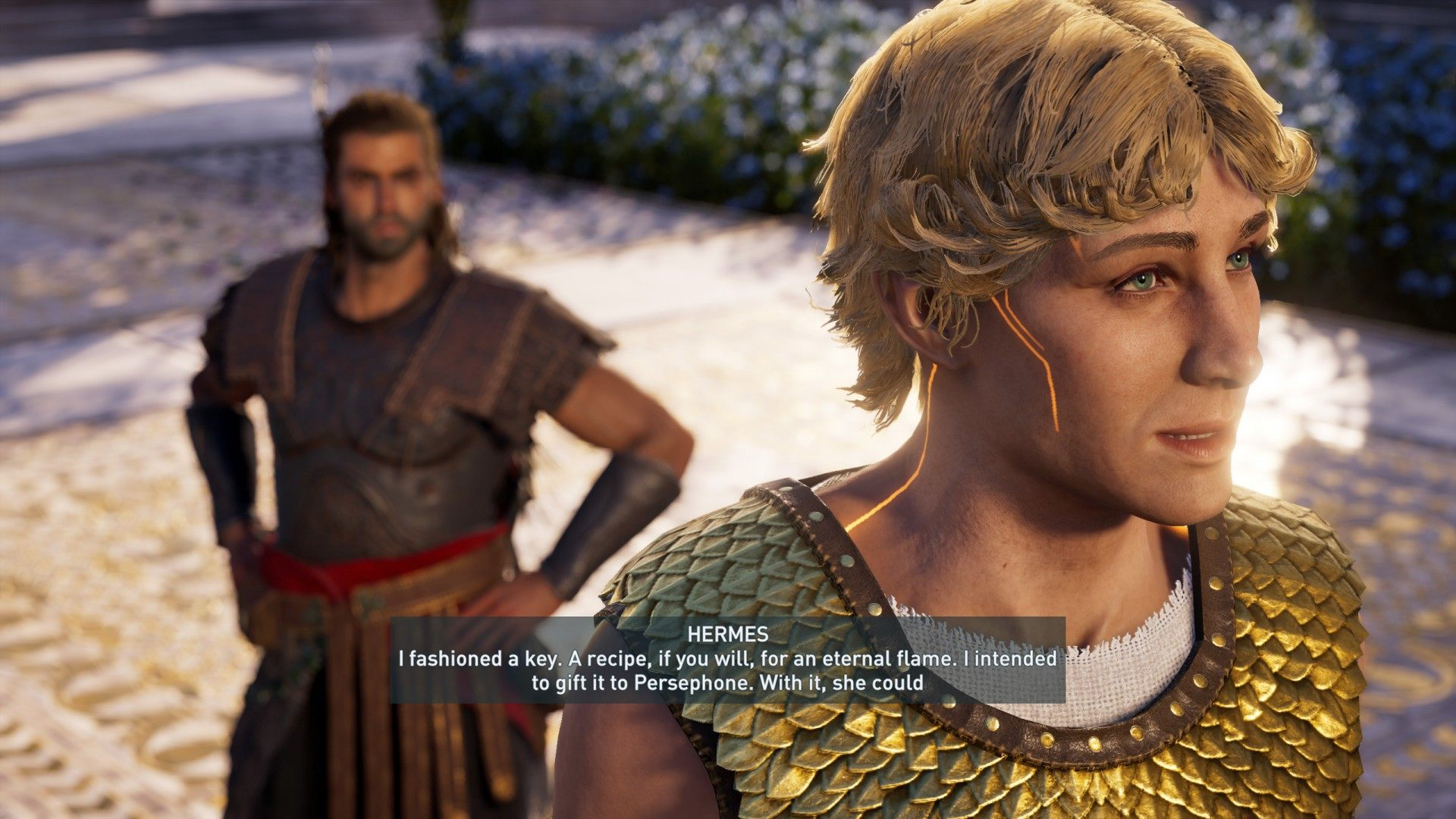 The Keeper And The Flame Assassin S Creed Odyssey Quest