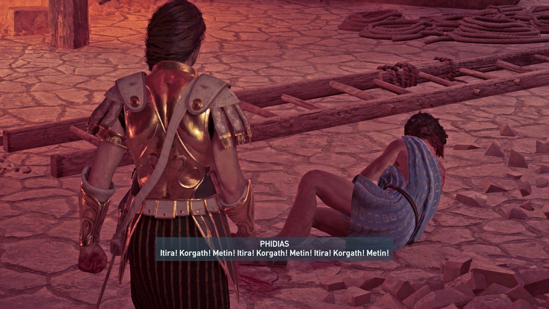 Three Symbols Entombed Assassin S Creed Odyssey Quest