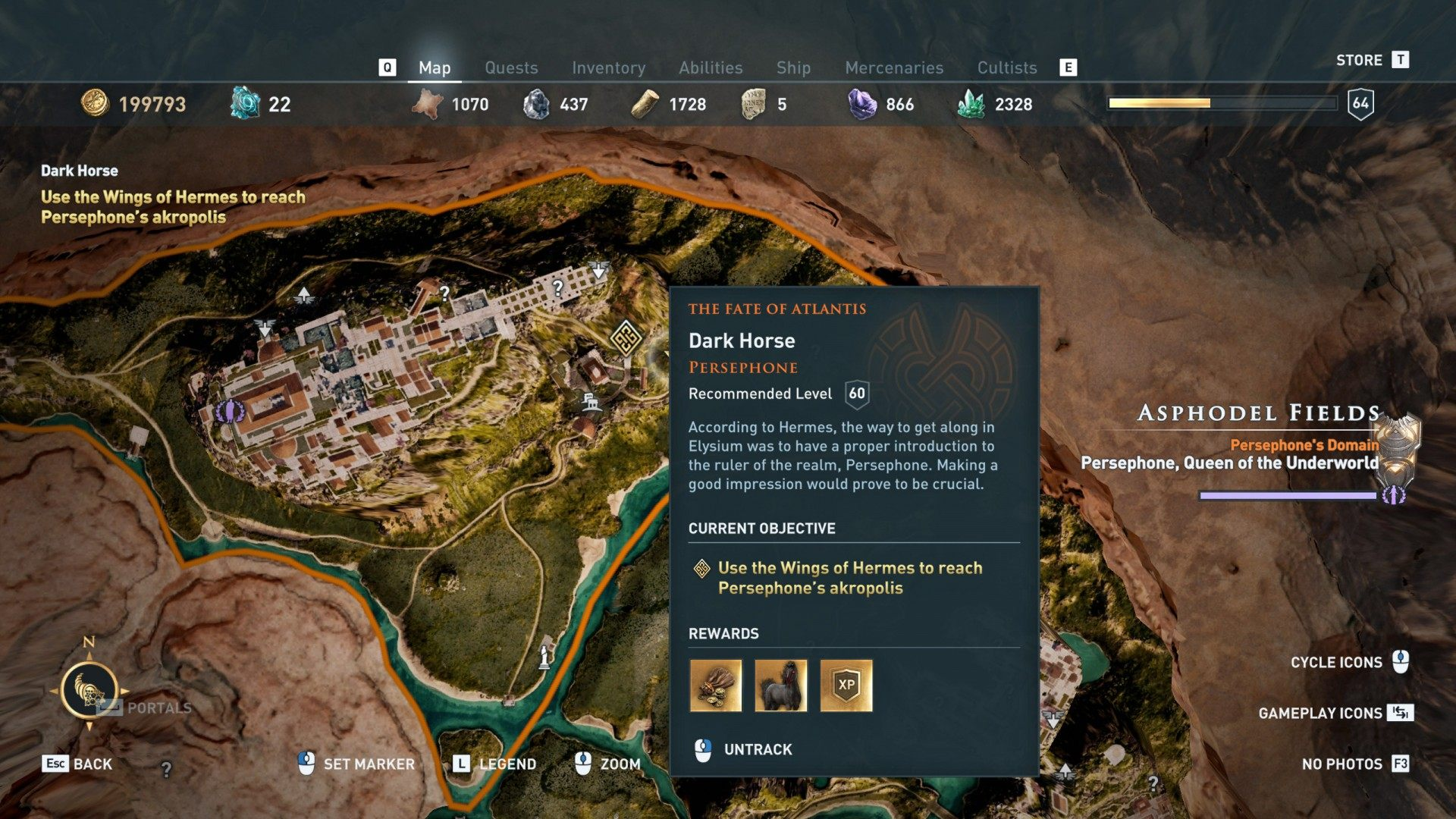 Dark Horse, Assassin's Creed Odyssey Quest