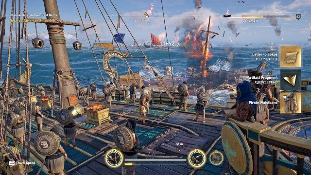 The Gods of the Aegean Sea, Assassin's Creed Odyssey Quest