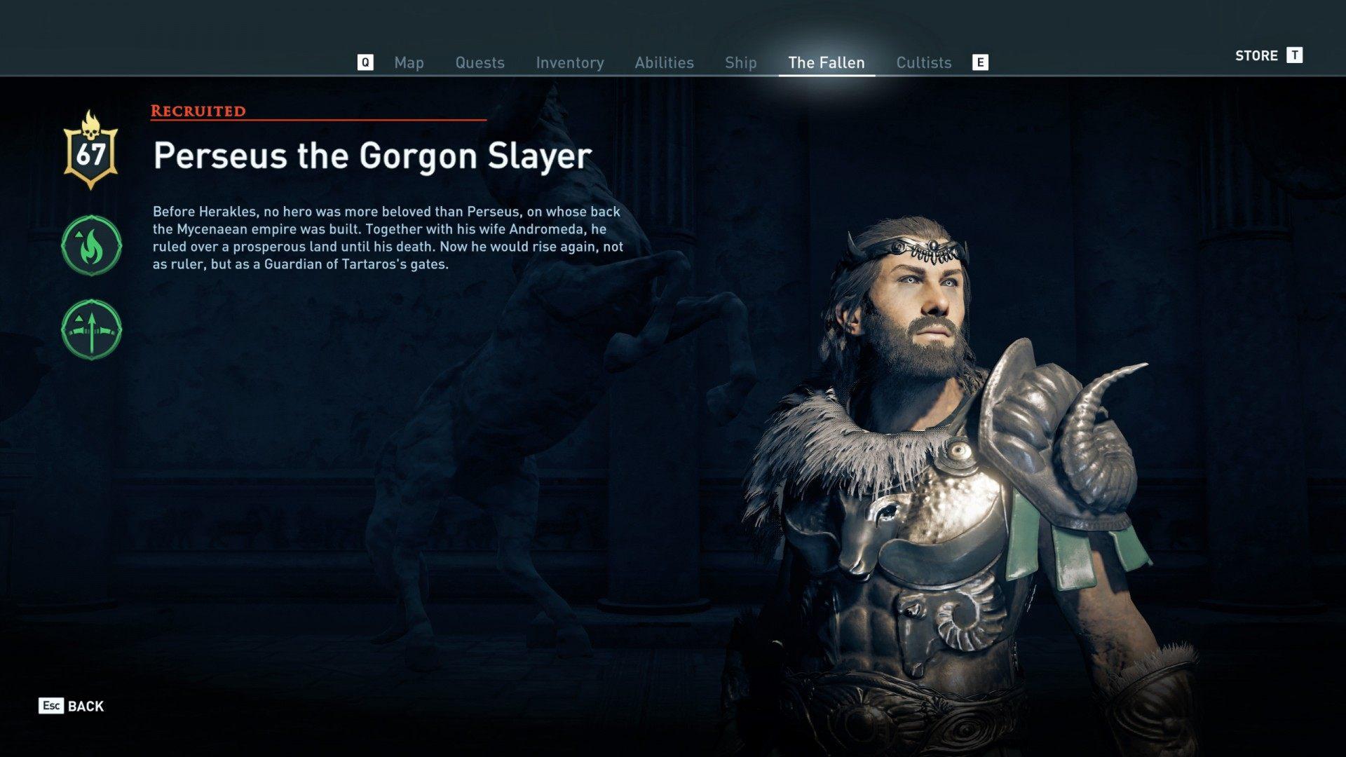 The Underworld S Fallen Guardians Assassin S Creed Odyssey Quest
