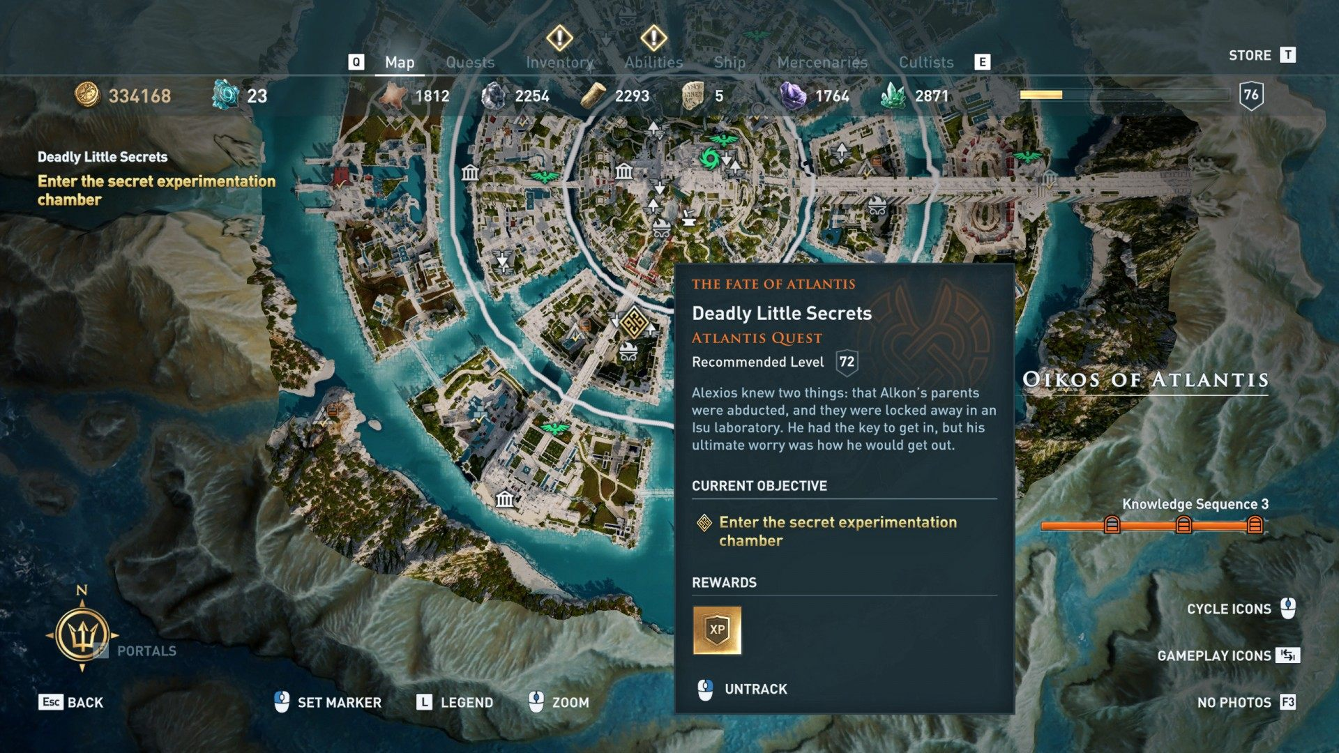 Deadly Little Secrets, Assassin's Creed Odyssey Quest