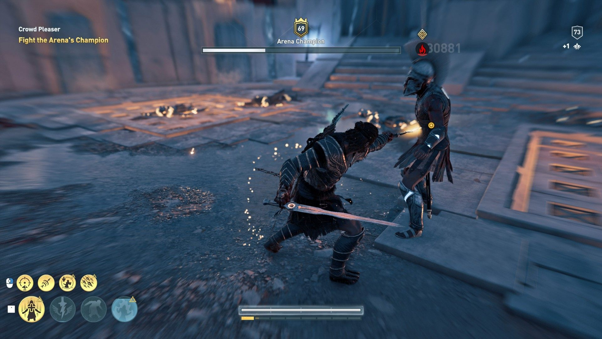 Crowd Pleaser, Assassin's Creed Odyssey Quest