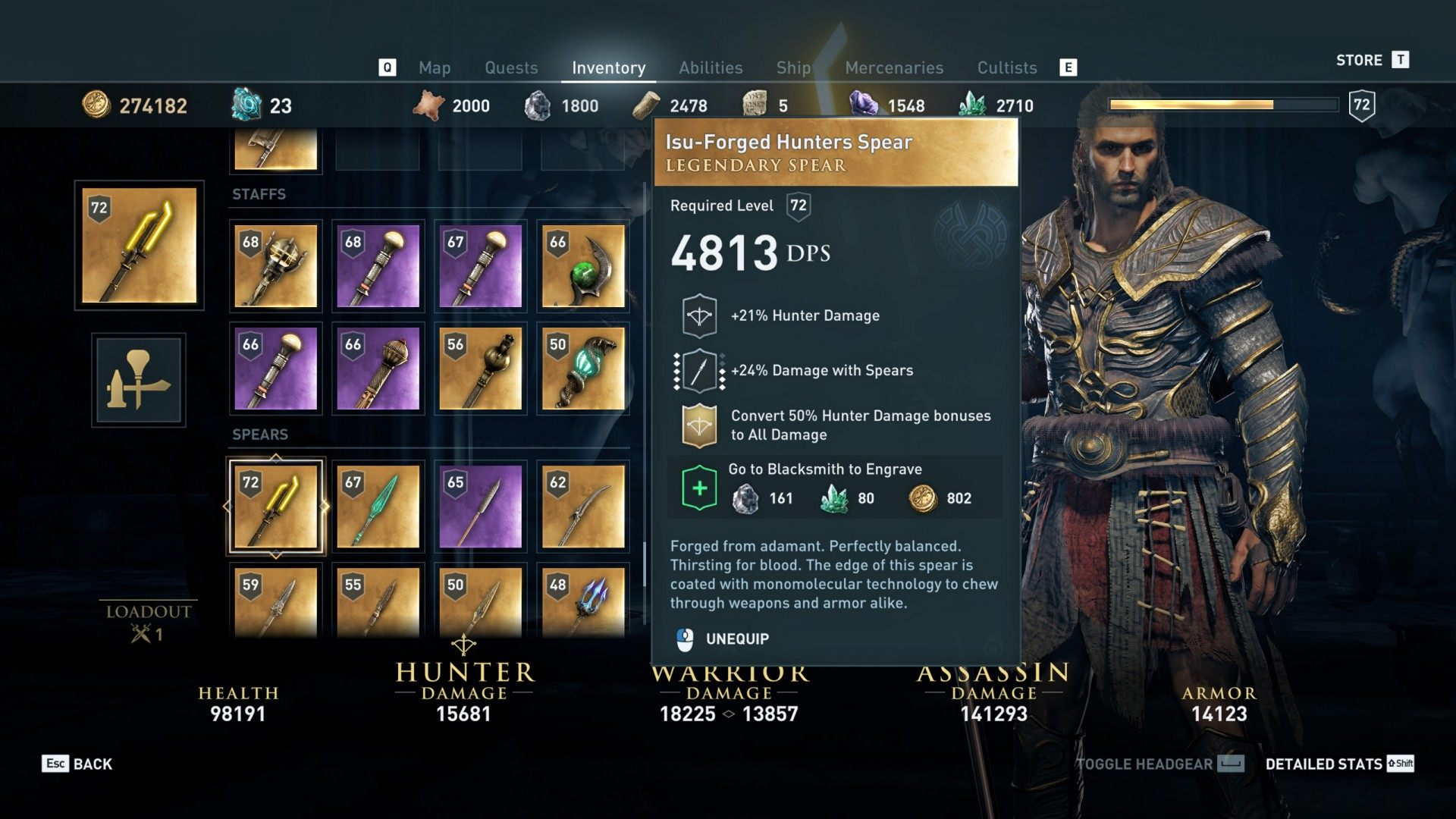 Fire Amid the Water, Assassin's Creed Odyssey Quest