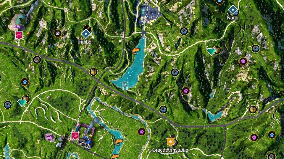 Hope County Far Cry New Dawn Map