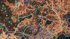 World Map, Rage 2 Map