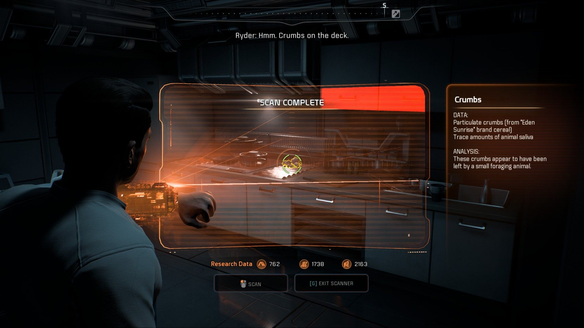The Visitor Mass Effect Andromeda Mission