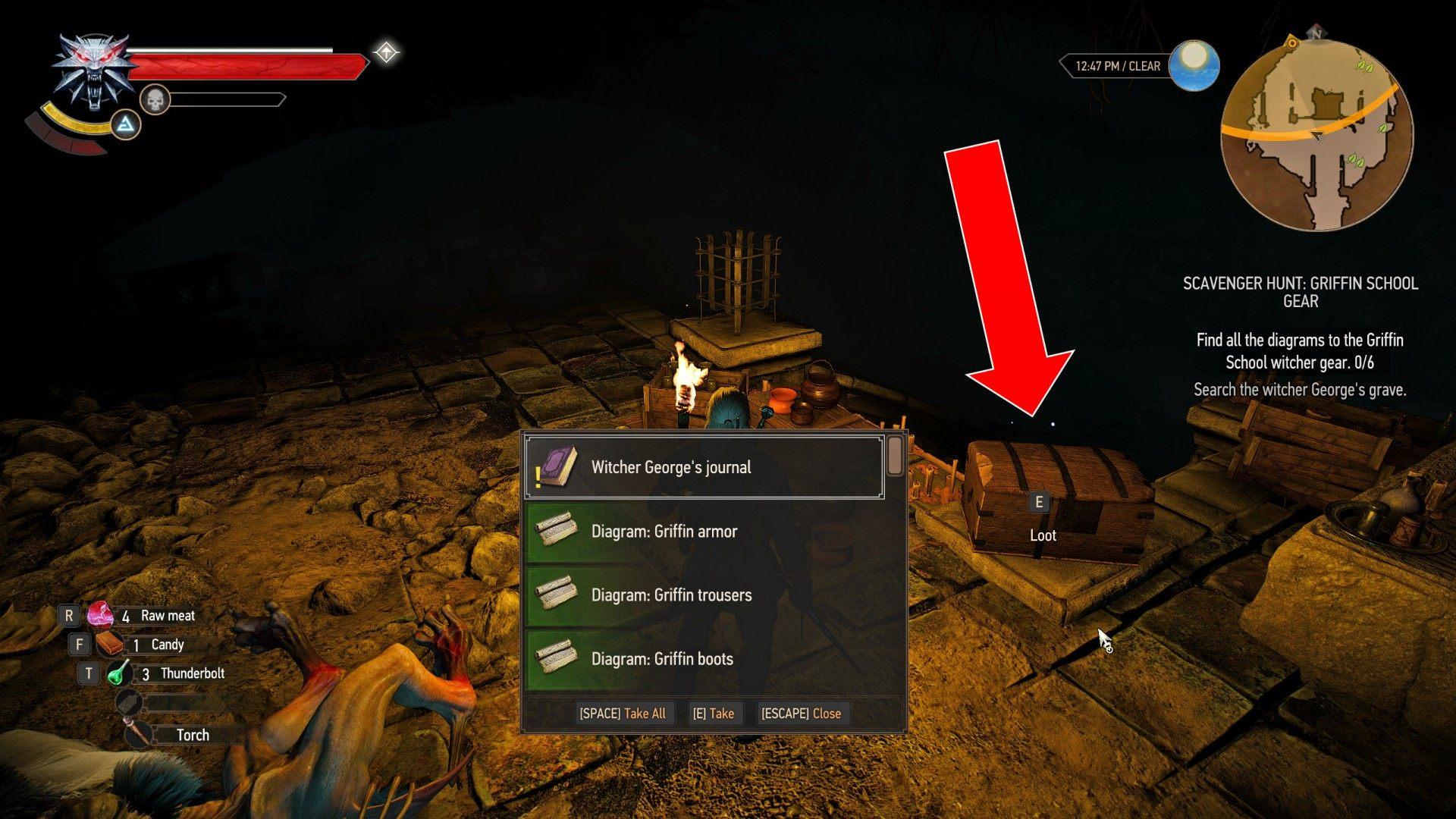 Scavenger Hunt Griffin School Gear Witcher 3 Wild Hunt Quest