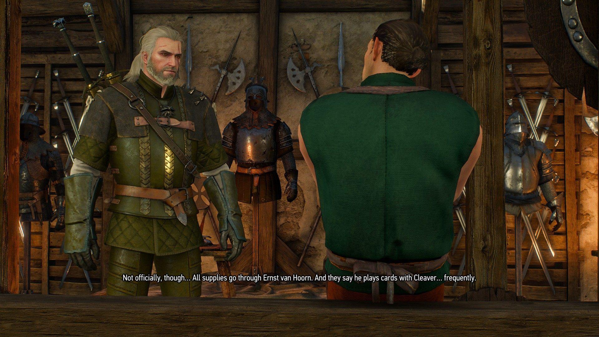 Of Swords And Dumplings Witcher 3 Wild Hunt Quest