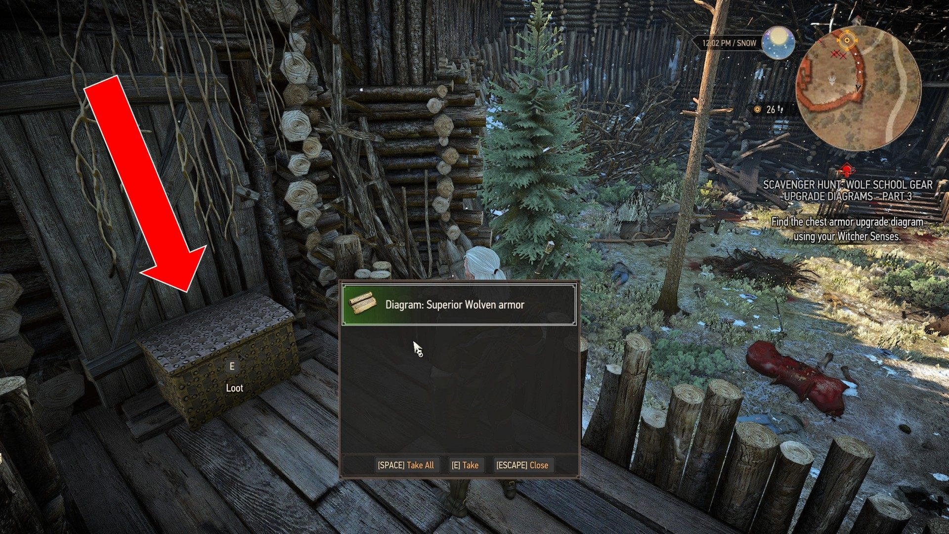Witcher 3 Wolf Armor Locationncpro