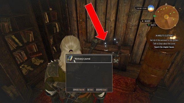 Unlock the chapter house doors: Morkvarg's journal