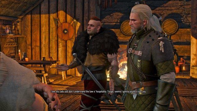 Stranger in a Strange Land, Witcher 3: Wild Hunt Quest