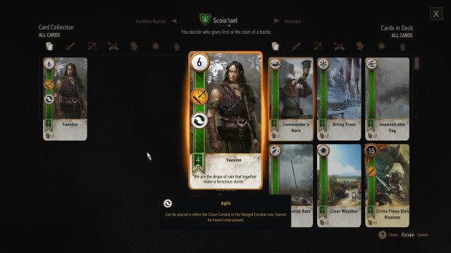 gwent skellige style witcher 3 wild hunt quest