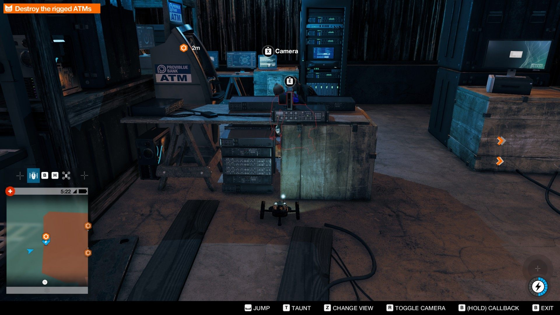 Watch Dogs  Destroy Rigged Atms