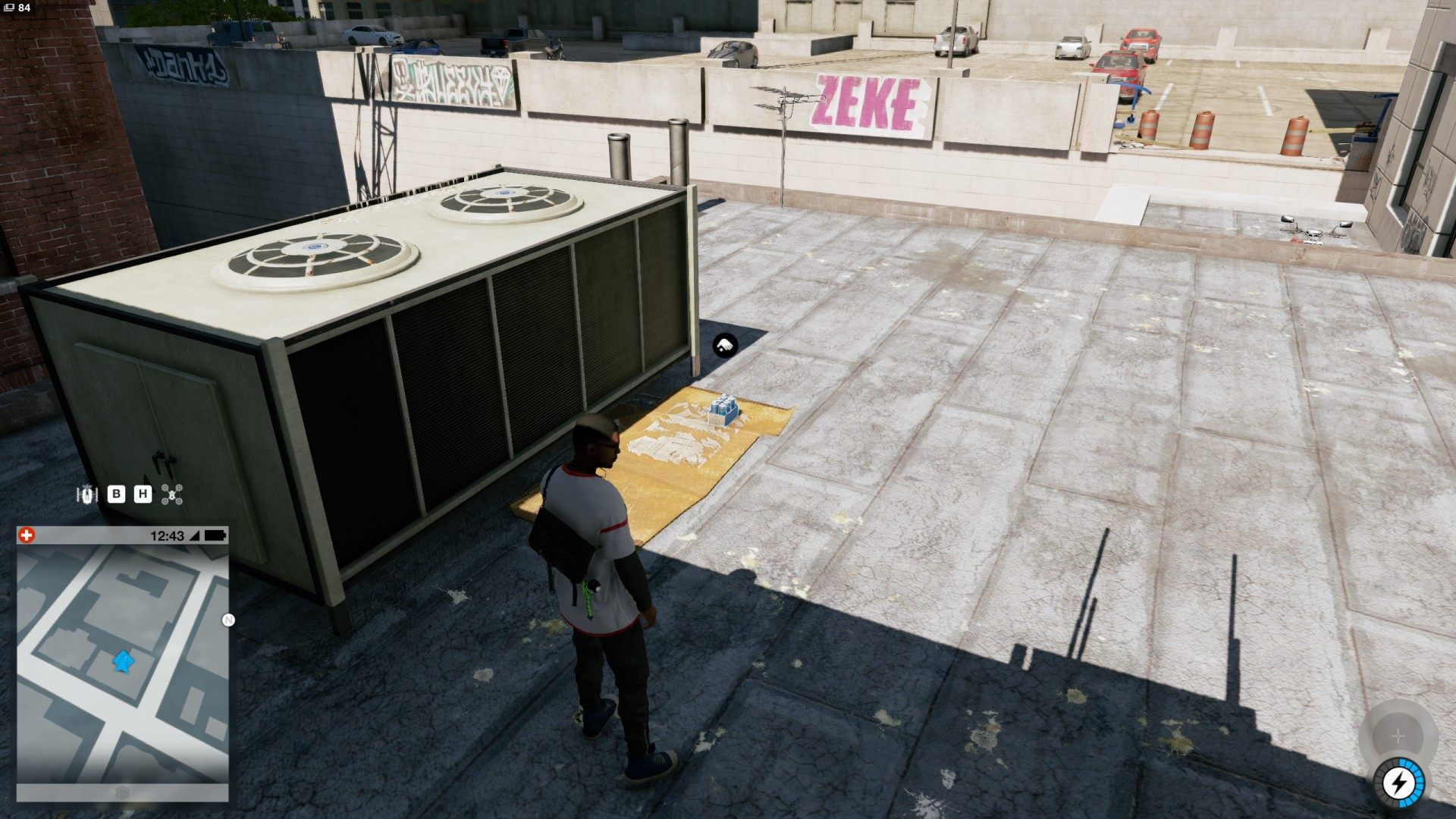 Watch Dogs  Paint Job Roof