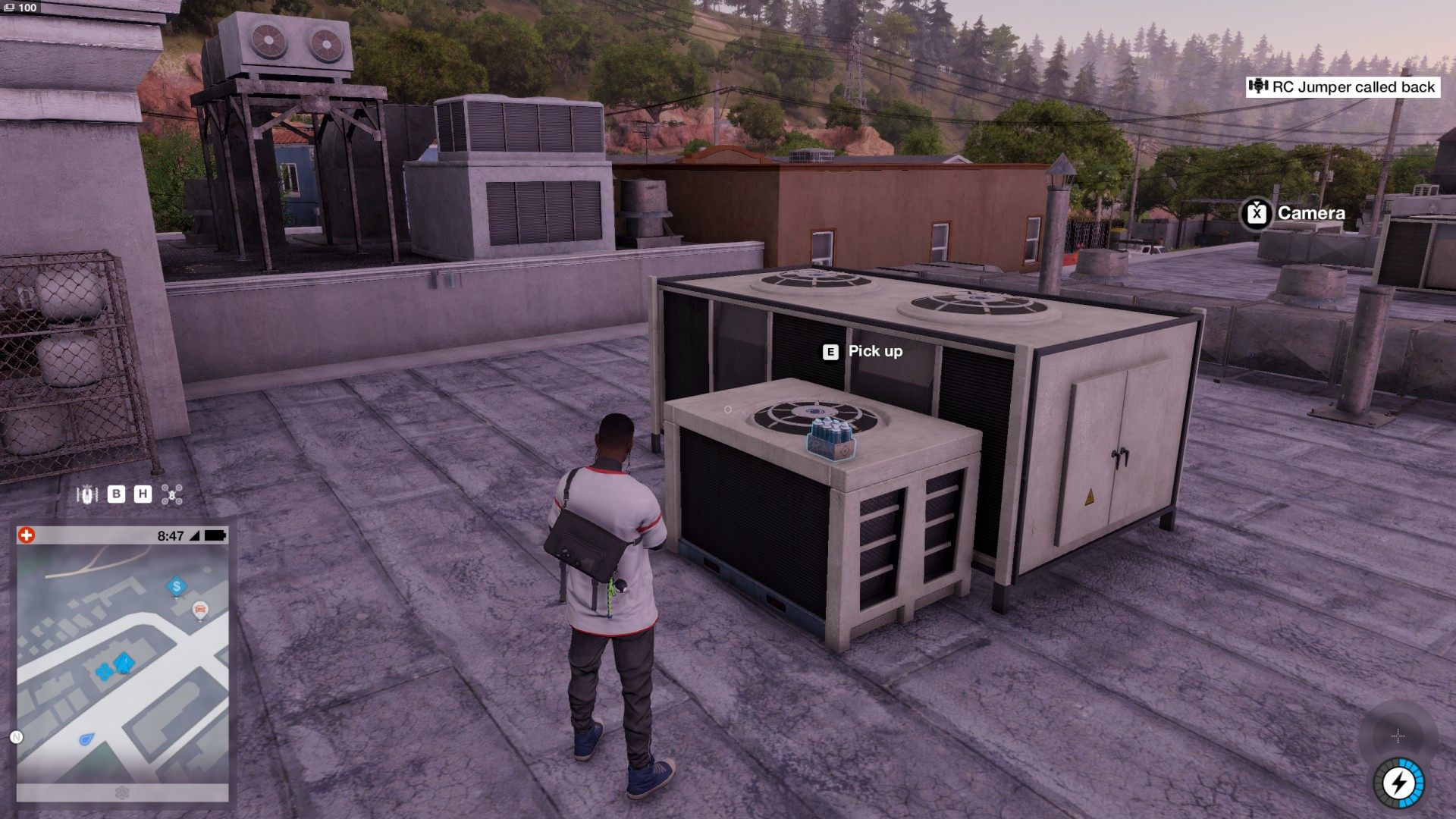 Watch Dogs  How To Get Onto Lighthouse
