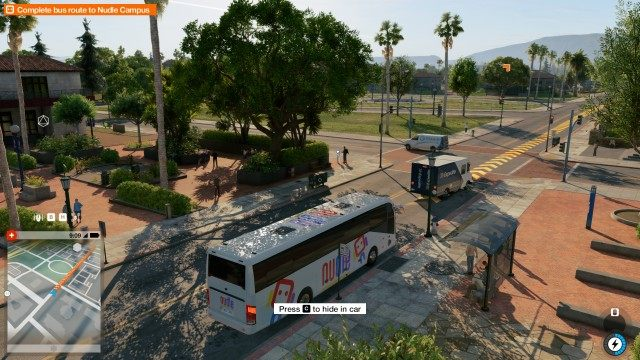 Complete bus route to Nudle Campus