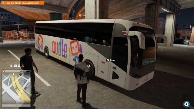 Take the Nudle bus with Horatio