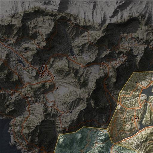 Bolivia, Fallen Ghosts, Ghost Recon: Wildlands Map on