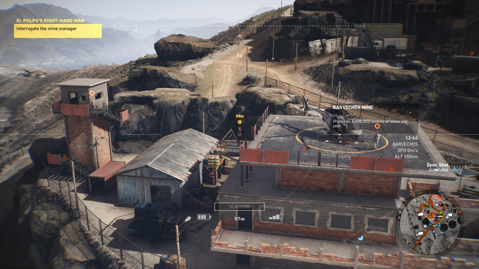 interrogate the mine manager