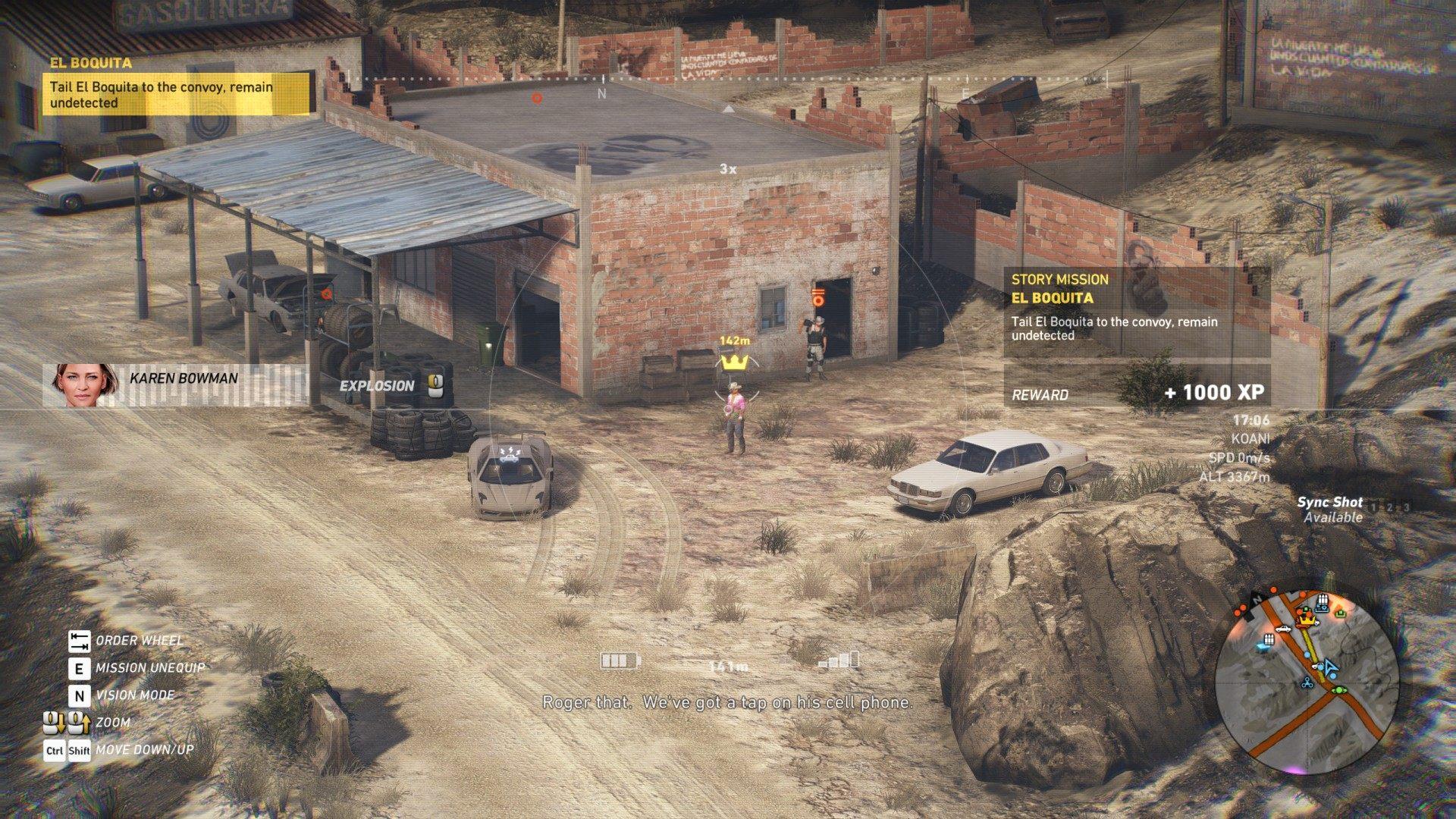 El Boquita, Ghost Recon: Wildlands Mission