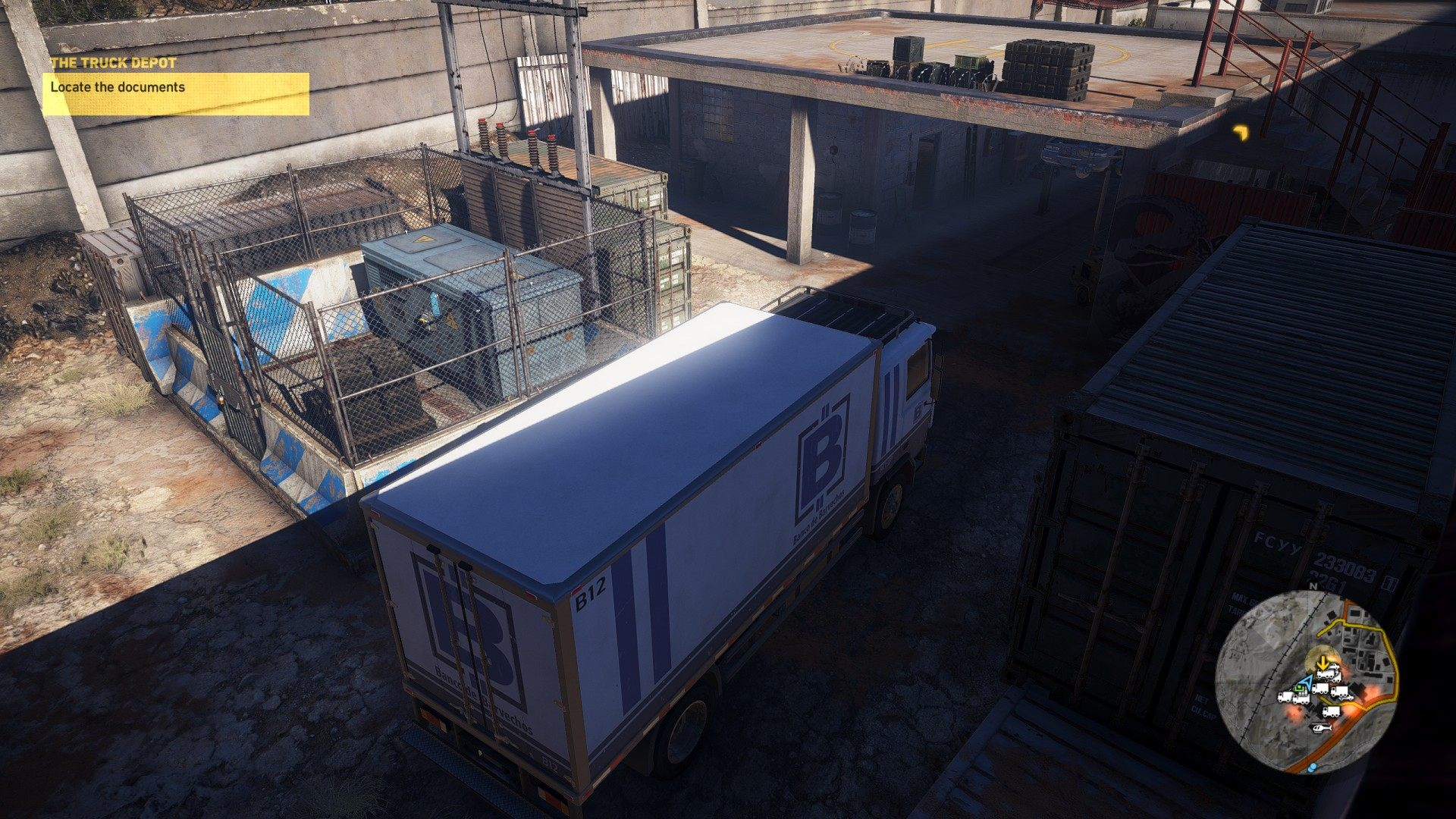 The Truck Depot, Ghost Recon: Wildlands Mission