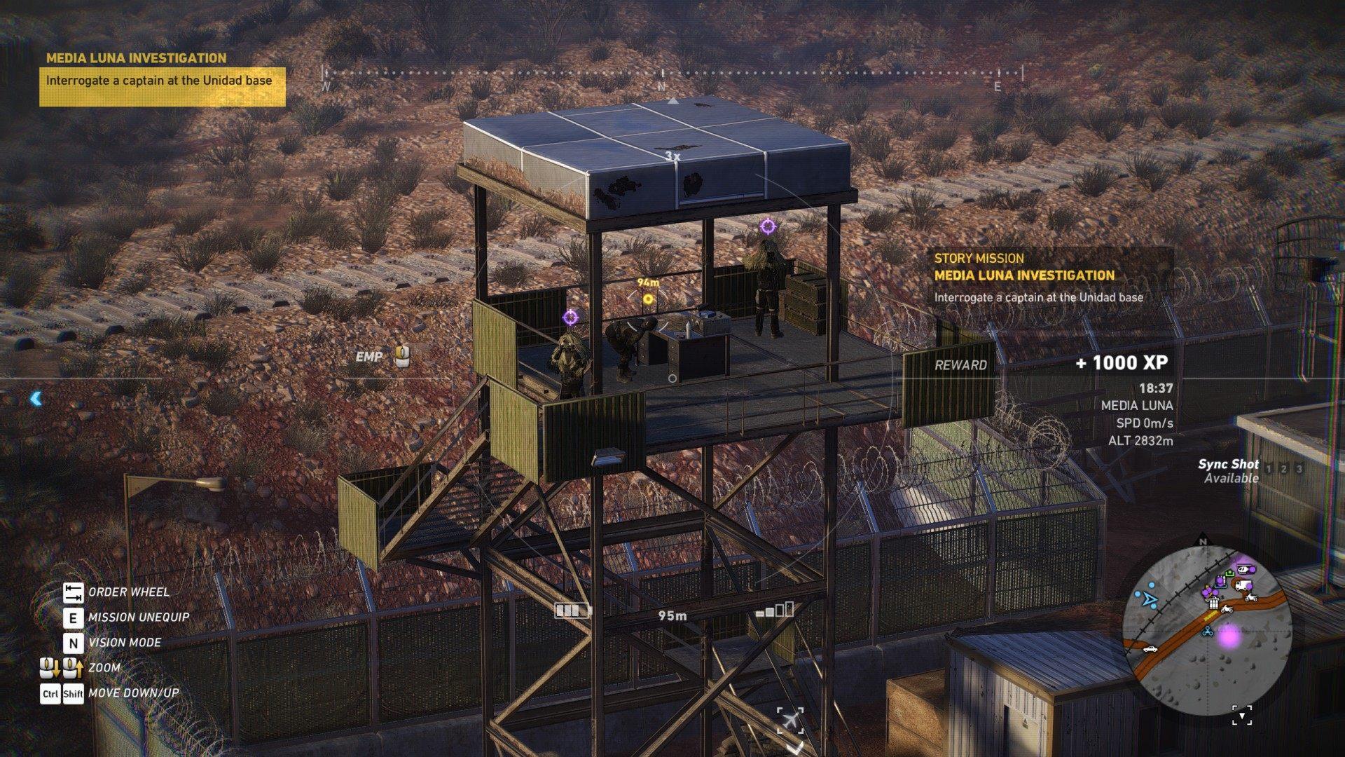interrogate a captain at the unidad base