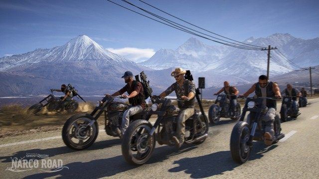 Ghost Recon: Wildlands - Narco Road DLC details
