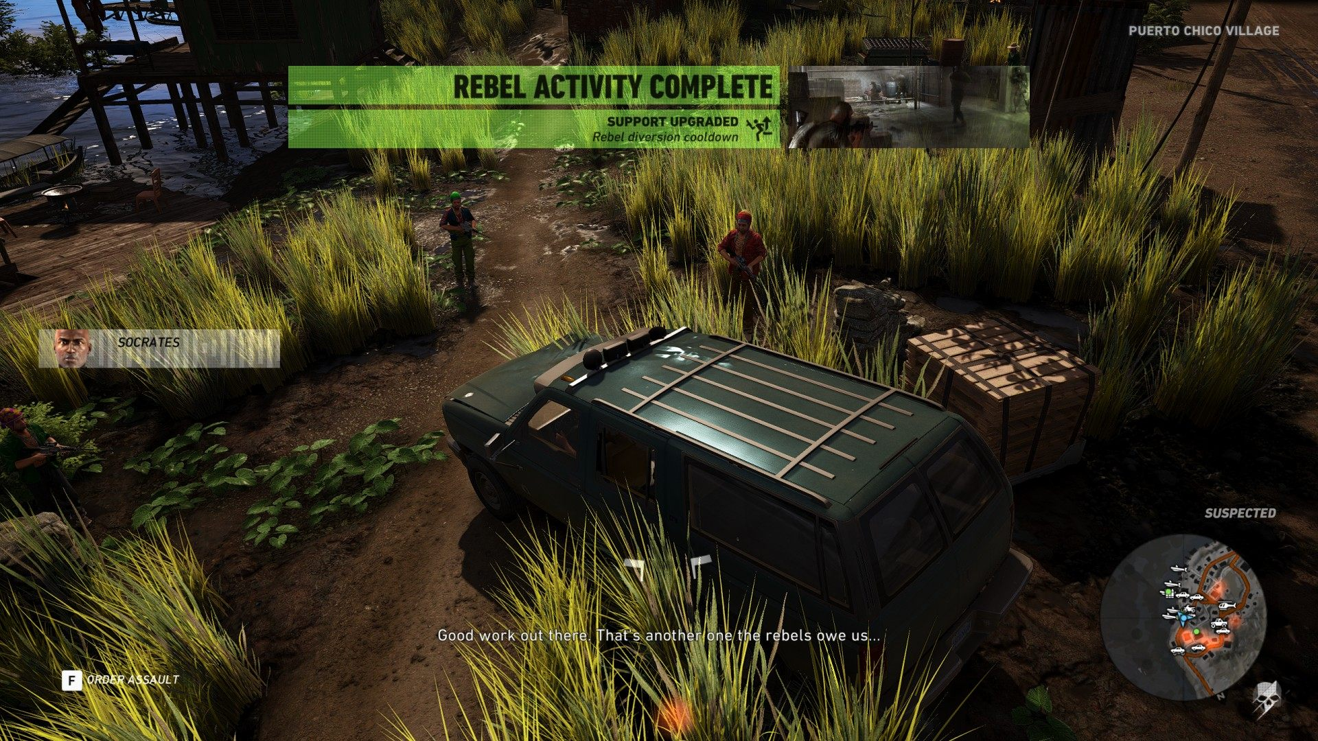 Save the Rebel VIP, Ghost Recon: Wildlands Mission