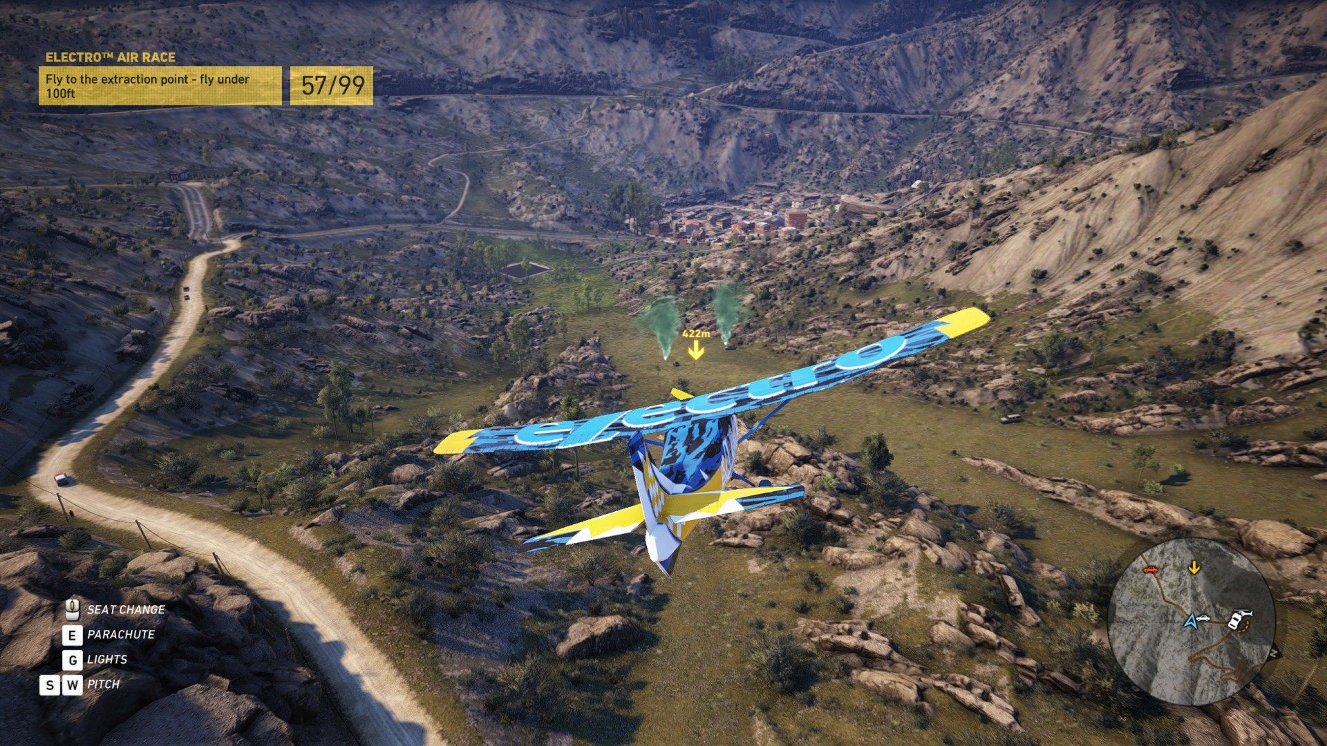 Electro™ Air Race, Ghost Recon: Wildlands Mission