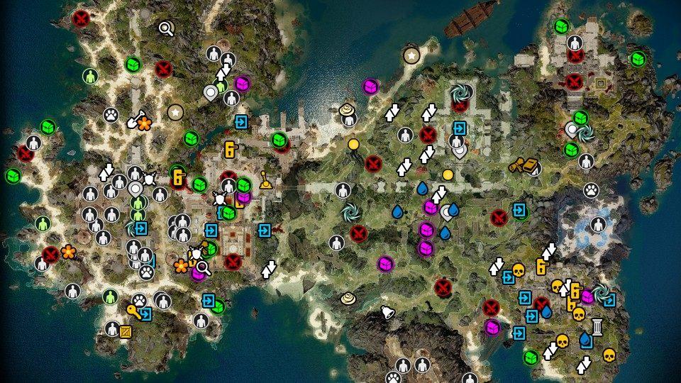 Fort Joy, Divinity: Original Sin 2 Map