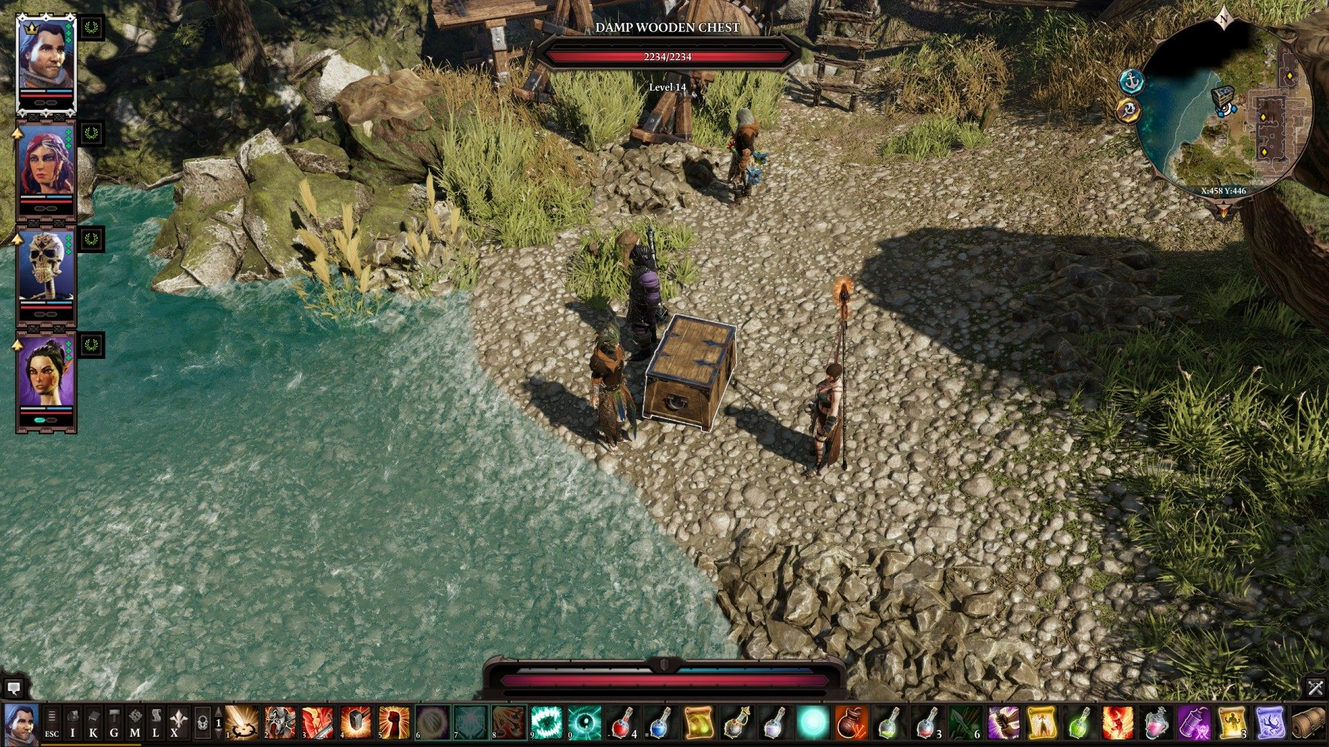 Chests, Reaper's Coast, Divinity: Original Sin 2 Points of