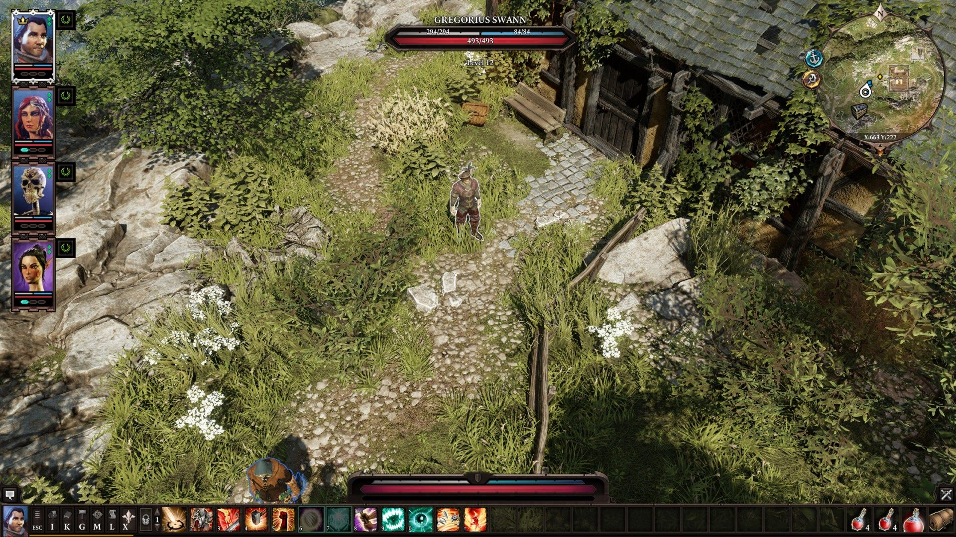 A Danger to Herself and Others, Divinity: Original Sin 2 Quest
