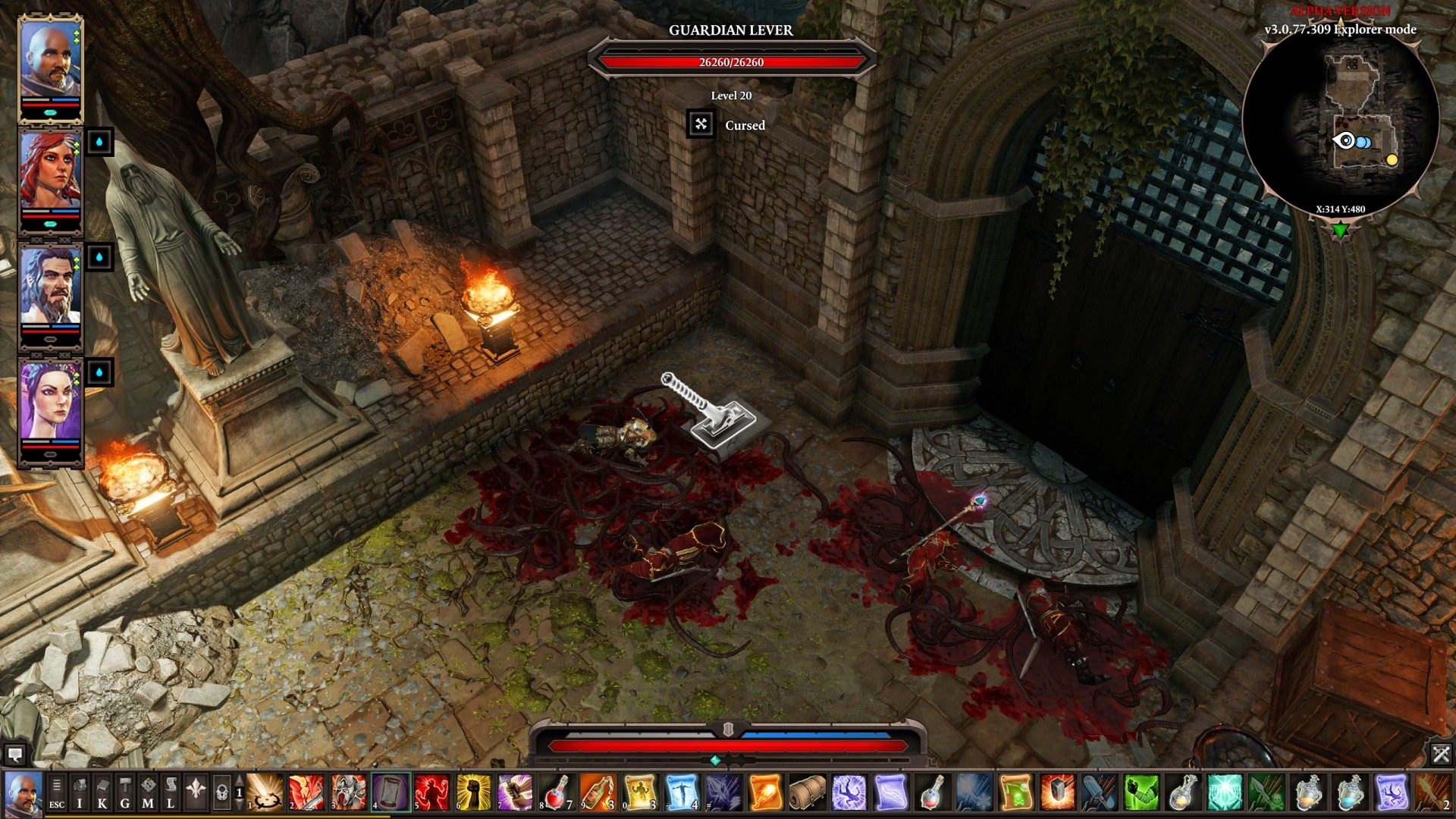 The Armoury, Divinity: Original Sin 2 Quest
